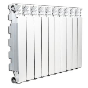EXCLUSIVO B3 - Radiatori in alluminio pressofuso Fondital - lato frontale