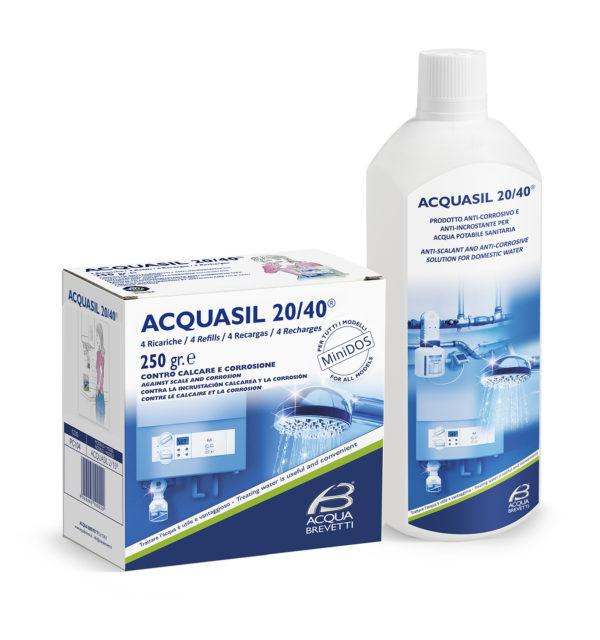 ricarica Acqua Sil 20-40 liquido a polifosfati vendita a roma