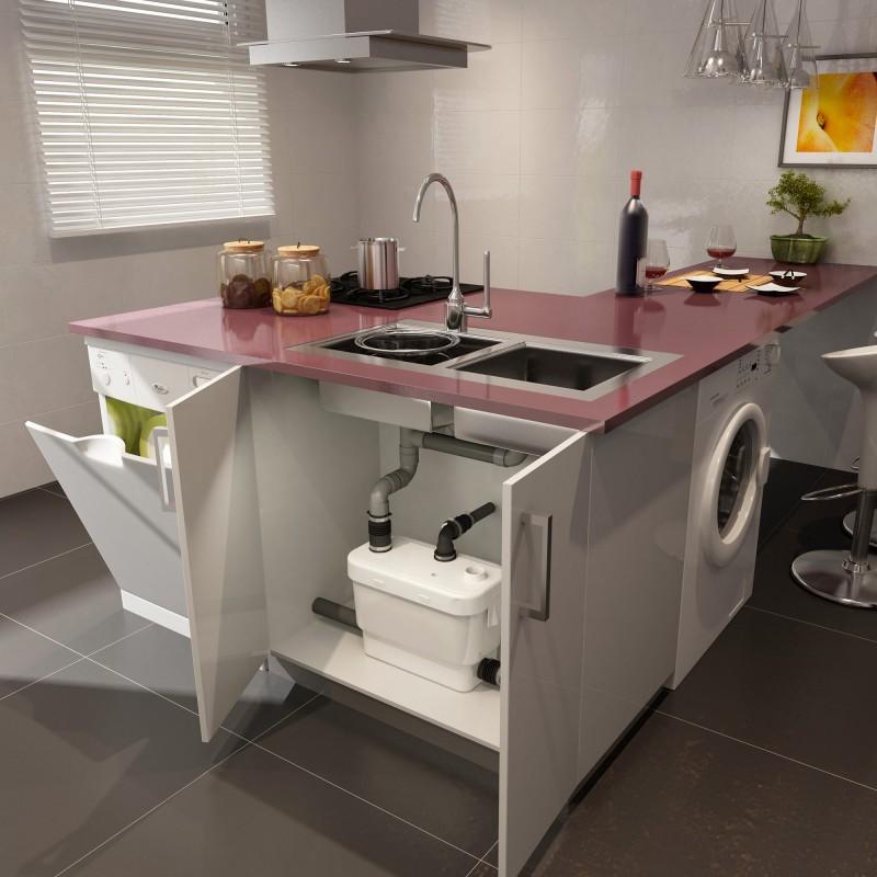 trituratore lavello cucina sanitrit sanivite