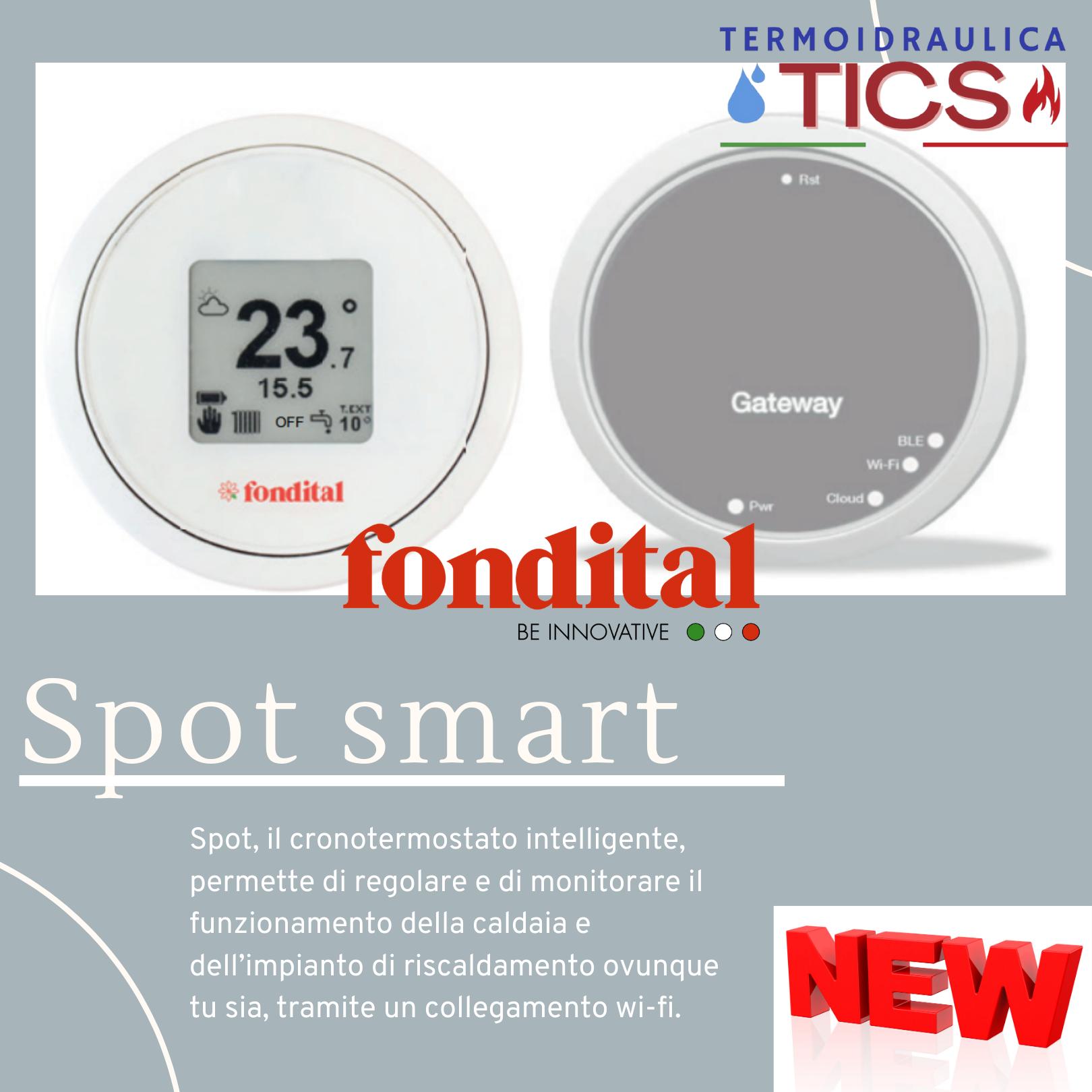 fondital spot smart thermostat a Roma